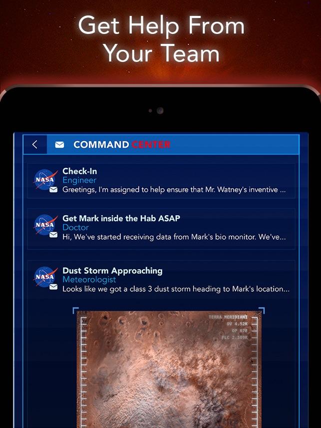 The Martian: Official Game Screenshot