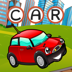 ABC car games for children: Train your word spelling skills of cars and vehicles for kindergarten an...