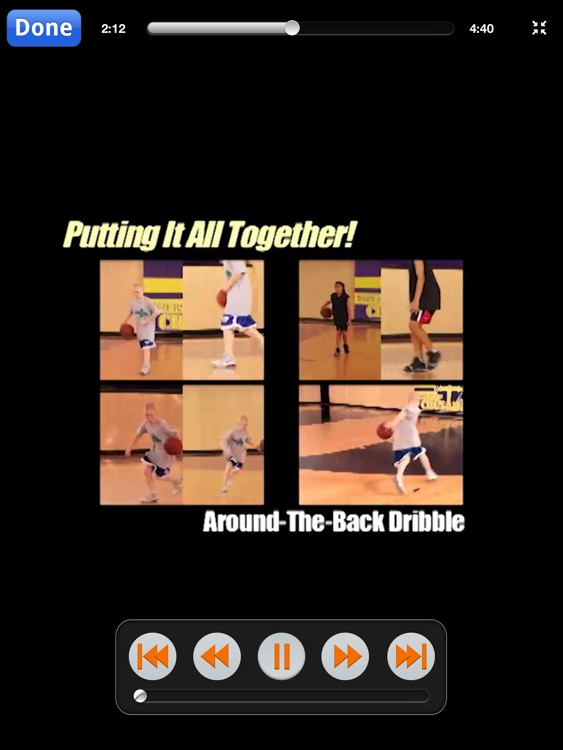 Great Ball-Handling Made Easy! - With Coach Brian McCormick - Full Court Basketball Training Instruction XL screenshot-3
