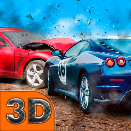 Destruction Derby Race 3D Full iOS App