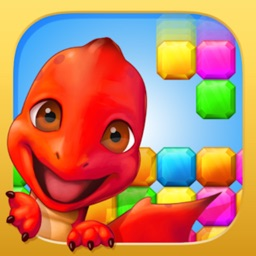 Dragon Puzzle World - fun 3 match splash game