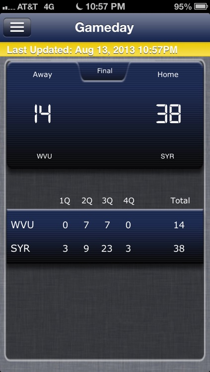 West Virginia Football Live screenshot-4