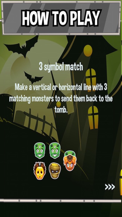 Monster Pile - Matching 3 Dead, Monstrous Zombie Draculas screenshot four