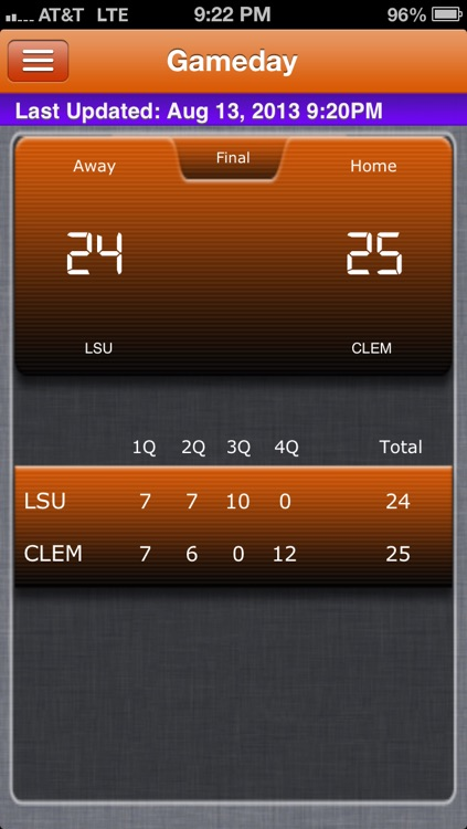 Clemson Football Live screenshot-3