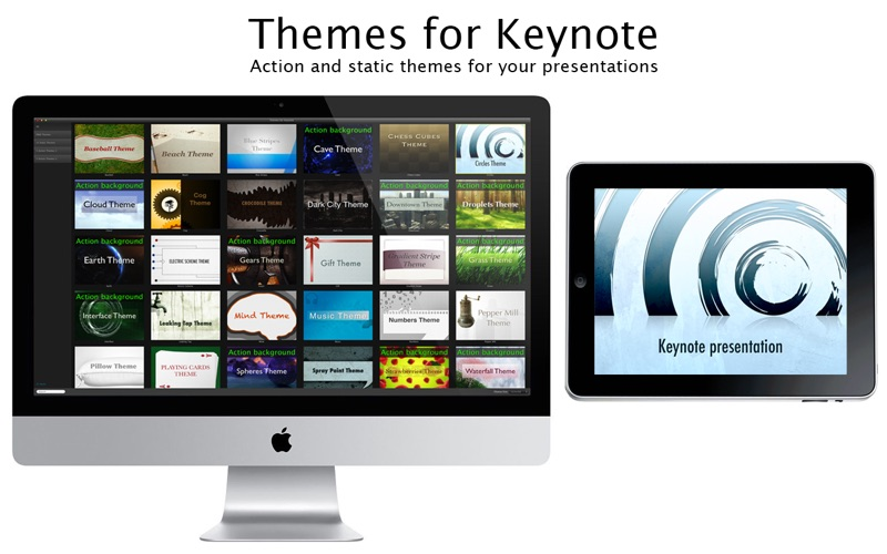 Themes for Keynote Screenshot