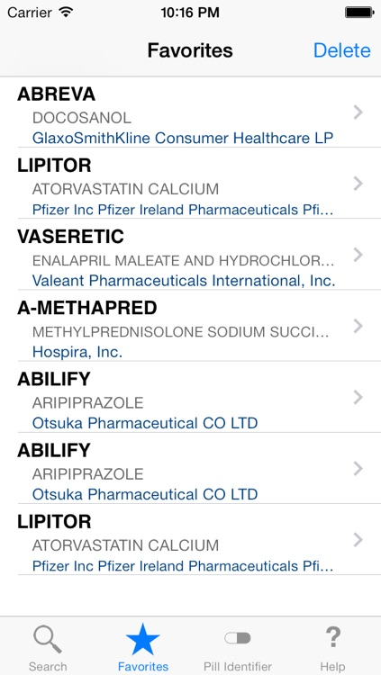 Drugs & Medications PRO screenshot-3