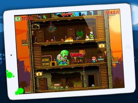 Crazy Bill: Smashing Zelebrities at the zombie stars hotel для iPad
