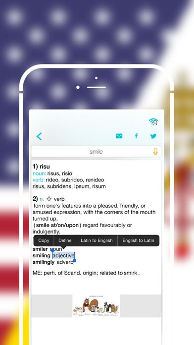 Offline Latin to English Language Dictionary, Translatorのおすすめ画像4
