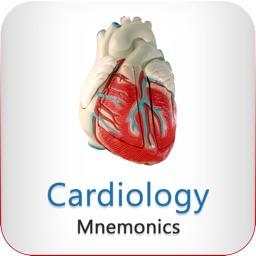 Cardiology Mnemonics – Anatomy, Pathology, Pharmacology, EKG, and much more