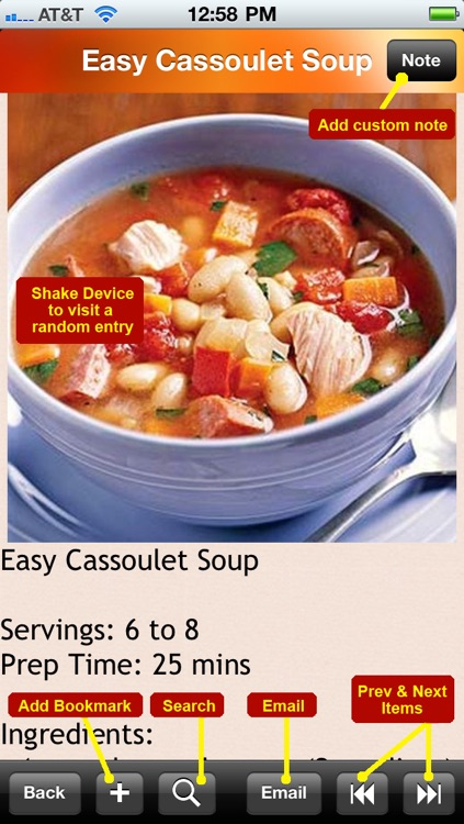 500 Soup Recipes screenshot-4