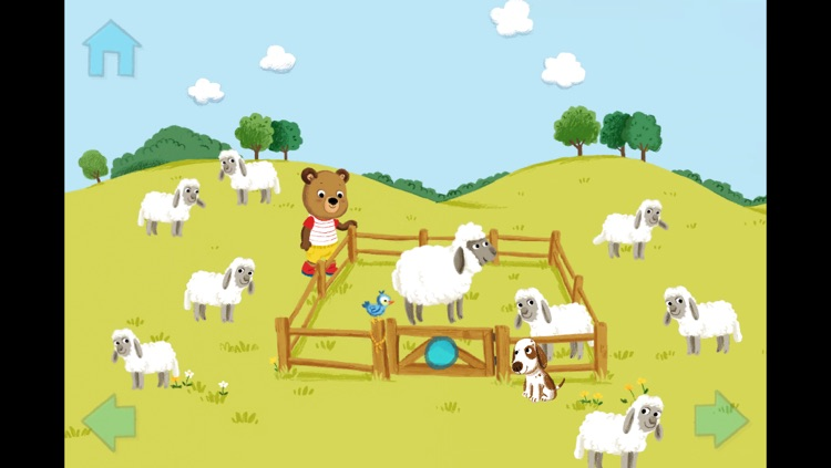 Benny Bär auf dem Bauernhof