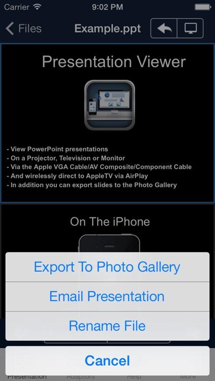 Presentation Viewer screenshot-3