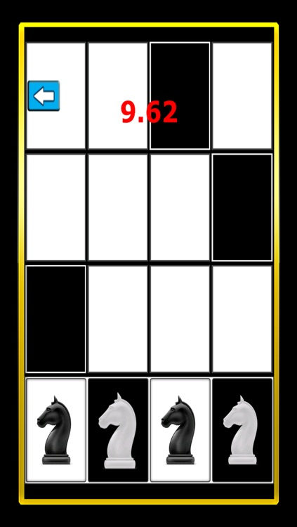 A White Chess Piece Speed Test : Touch Black Tile Only Free screenshot-3