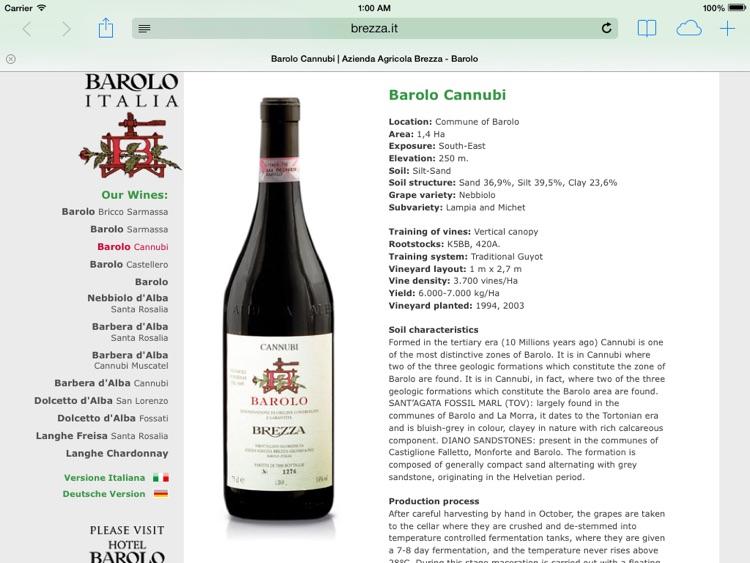 Barolo & Novello Wine Map screenshot-4
