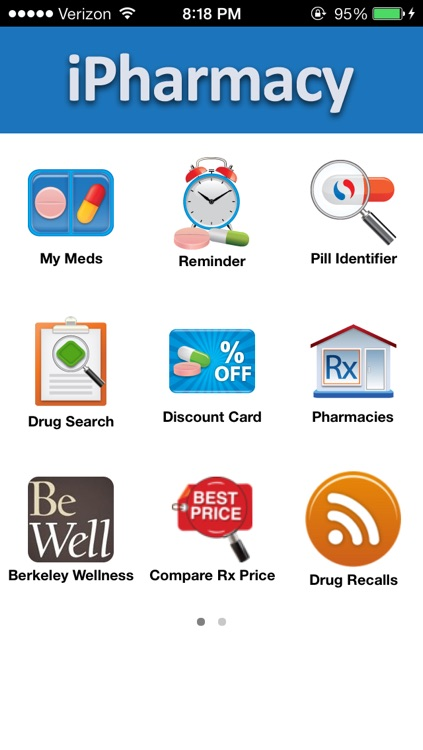 iPharmacy - Pill ID & Rx Reminder