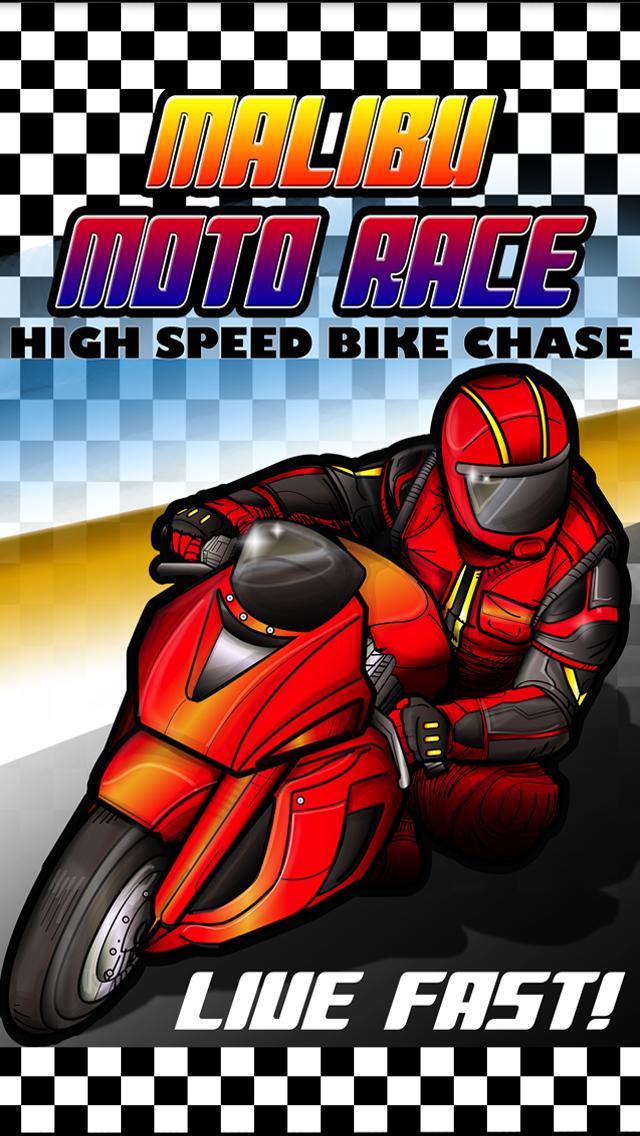 Malibu Moto Race - High Speed Bike Chase Free