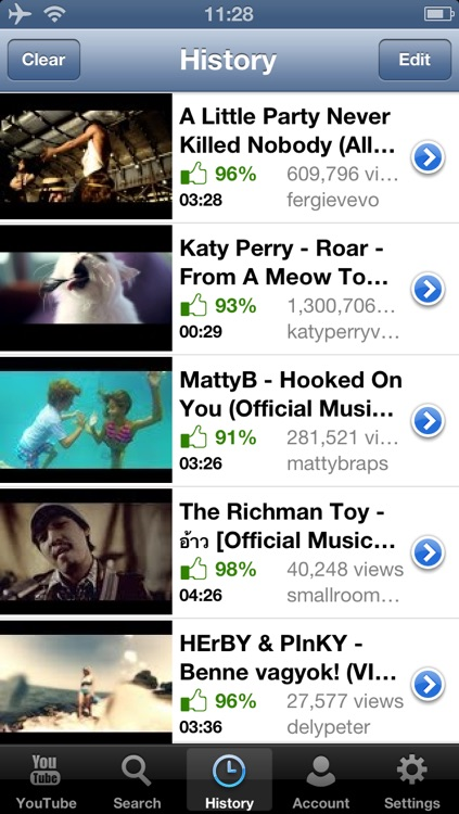 iMusic Tubee -- Music Player and Manager for YouTube. screenshot-3