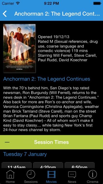 BIGSCREEN Cinemas Hervey Bay screenshot-3