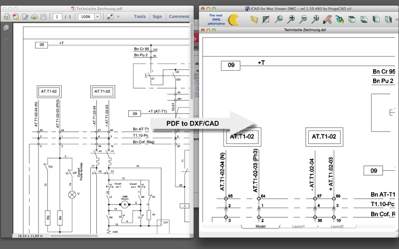 PdfGrabber CAD-Edition for Mac