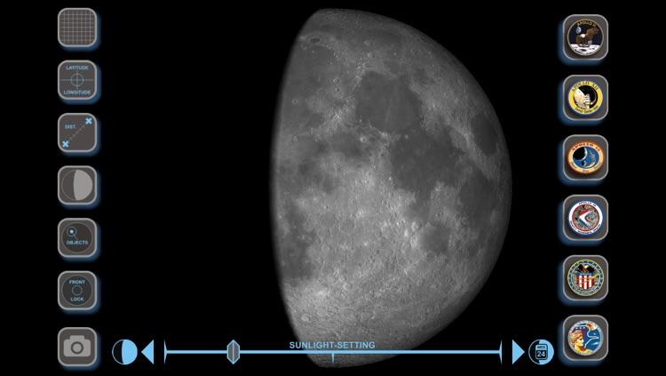 Moon Globe 3D