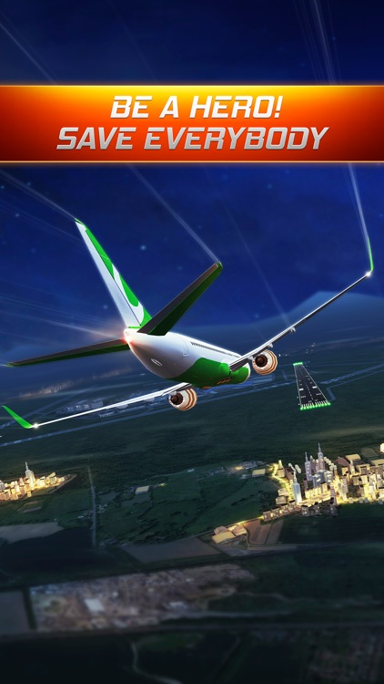 Flight Alert : Impossible Landings Flight Simulator by Fun Games For Free screenshot-3