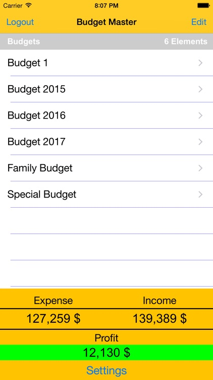 Budget Master - Expense & Income screenshot-2