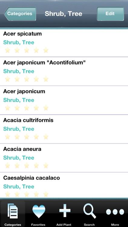 Garden Plants Database screenshot-3