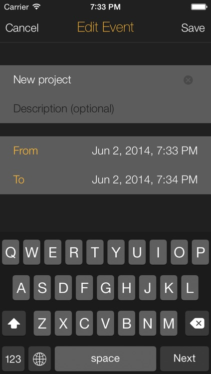 Time Left  - Quickly create one-time reminders on your iPhone, iPad or iPod Touch. HD screenshot-3