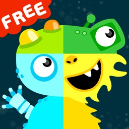 MooPuu FREE - The Animated Monster Puzzle