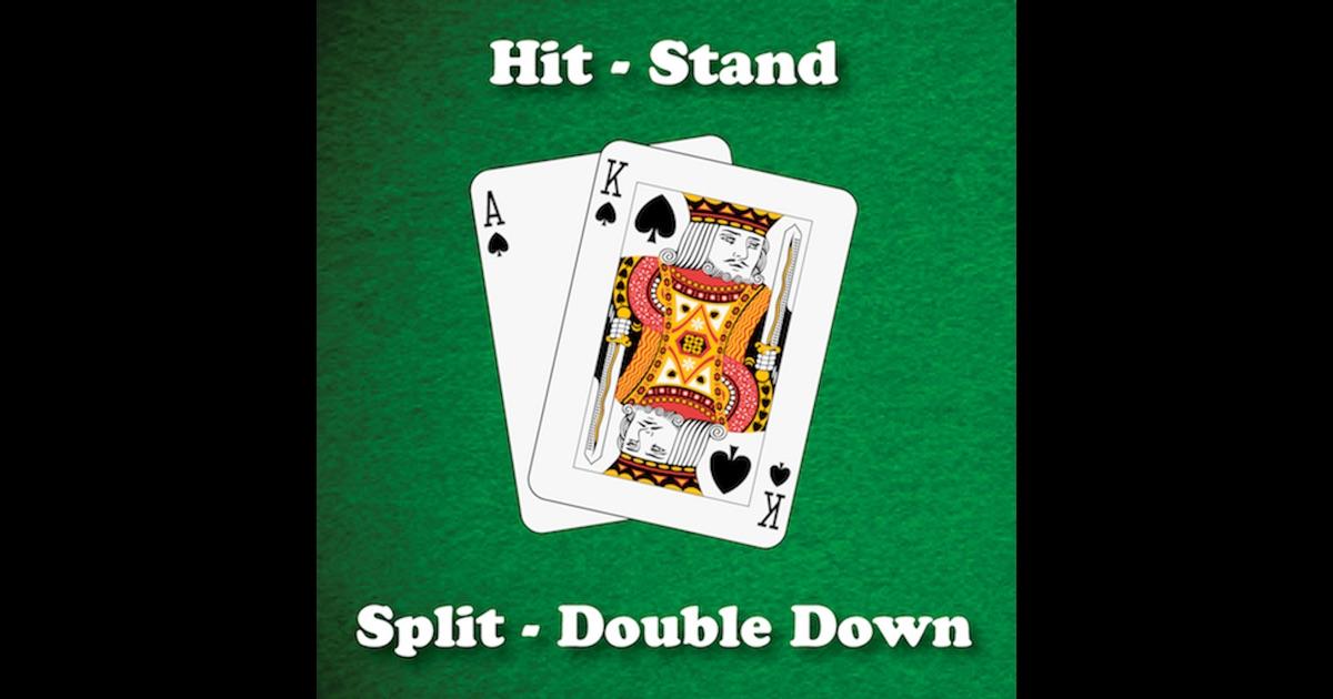 Blackjack hit stand tables