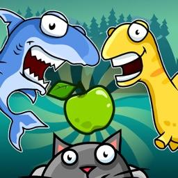 Monster Eats Food - 2 player