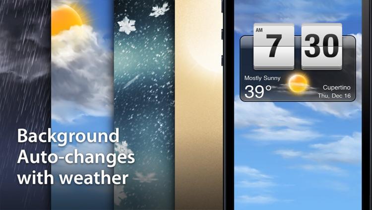 Weather Clock Free screenshot-4