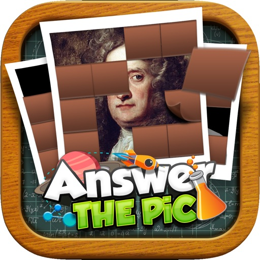 Answers The Pics : Scientist Trivia Reveal Puzzles Games
