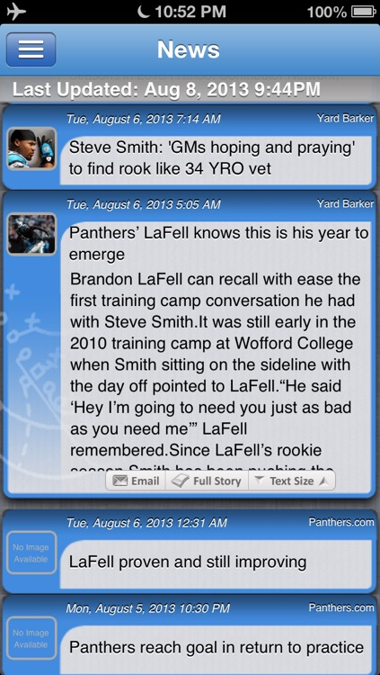 Carolina Football Live screenshot-1