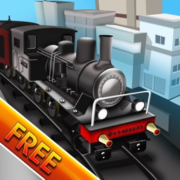 Architect Train Ville Puzzle : The Town Railway Crossing the City - Free