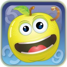 الارقام الانجليزية والفواكه المجنونة - English numbers and crazy fruits