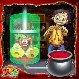Zombie Juice Factory – Make carnival food in this crazy cooking game for kids