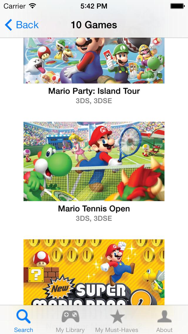 My Video Game Tracker screenshot two