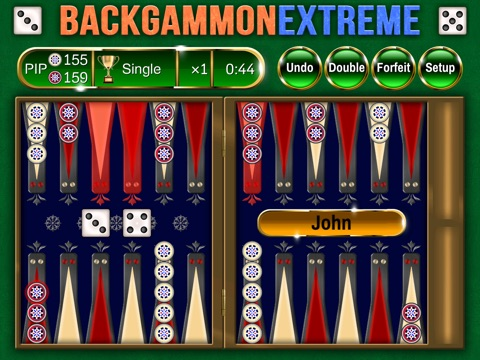 Backgammon Extreme Premium - Powerful, Beautiful, Social! для iPad