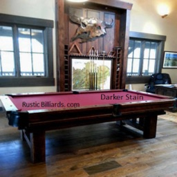 Log Cabin Pool Tables By Generation Mobile LLC - Mobile pool table