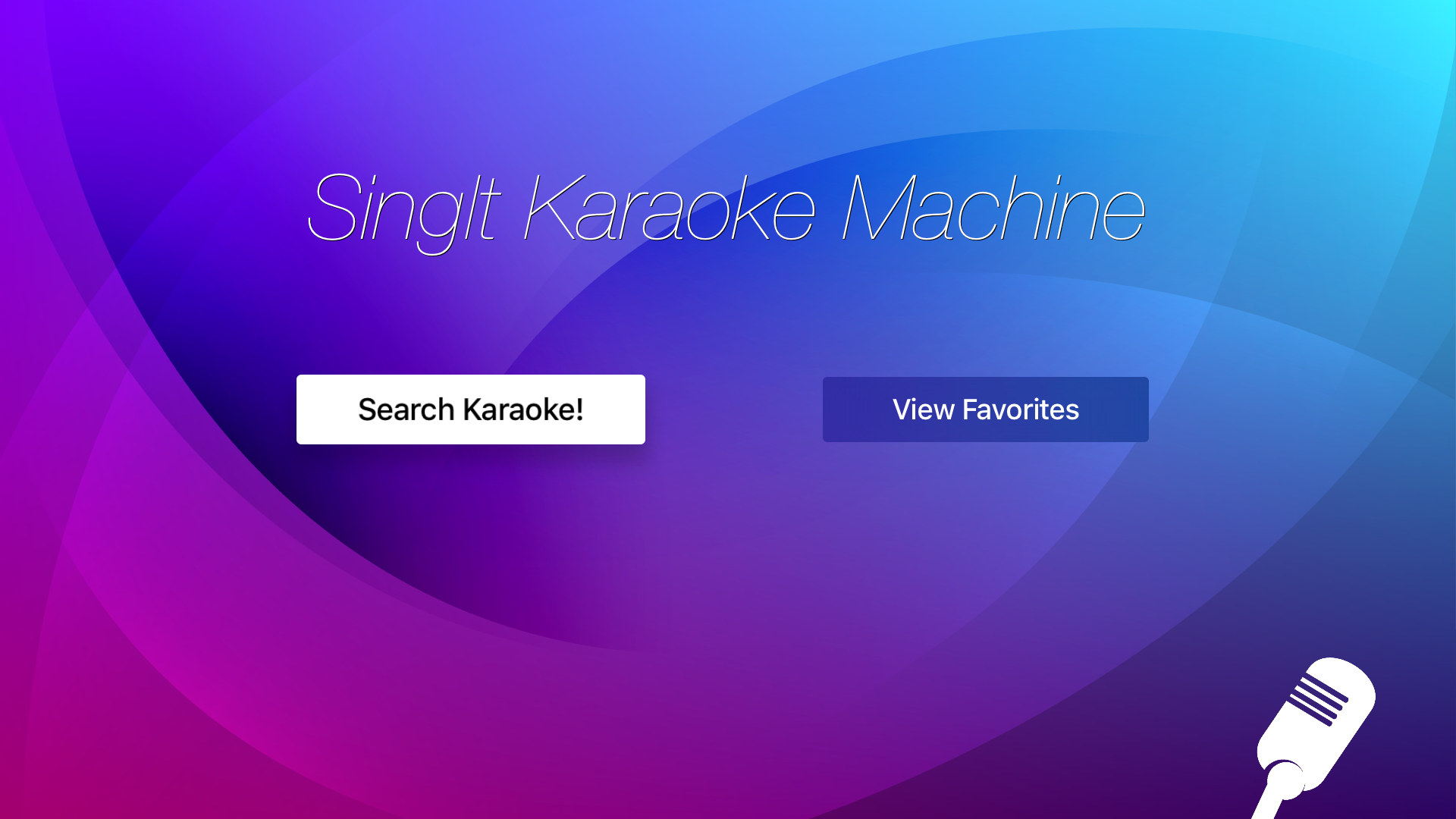 SingIt - Karaoke Party Machine screenshot 3