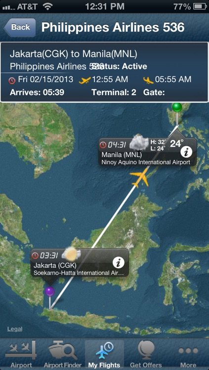 Manila Airport + Flight Tracker Premium screenshot-0