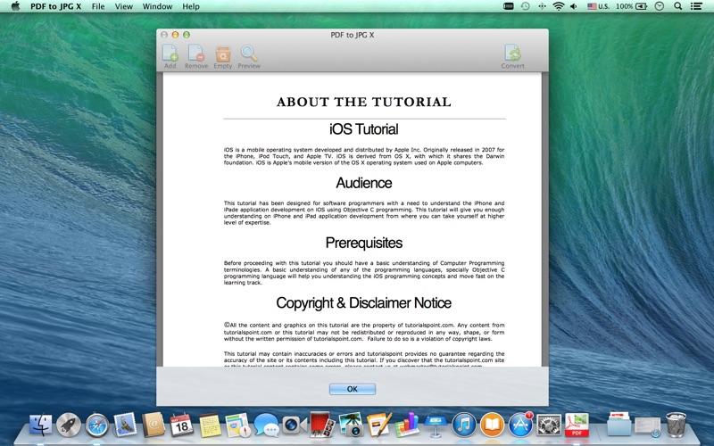 PDF to JPG - a PDF to Image Converter скриншот программы 5
