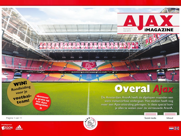 Ajax iMagazine App screenshot-1
