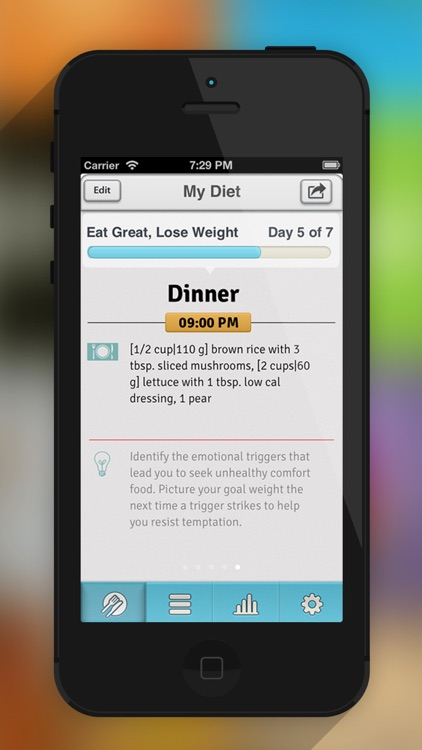 Loose and Track It- Healthy Calorie Based Weight Loss Diet Plans, BMI Calculator and Weight Tracker screenshot-3