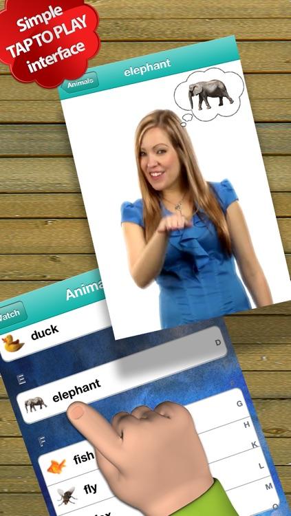Baby Sign Language Dictionary - ASL Edition screenshot-3