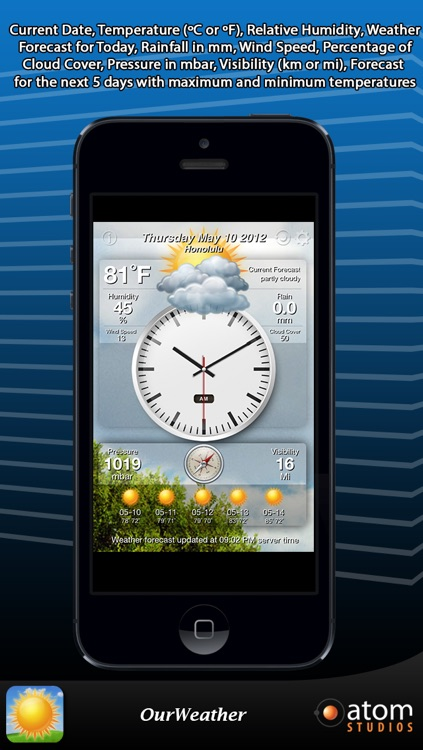 OurWeather - weather forecast made simple screenshot-3