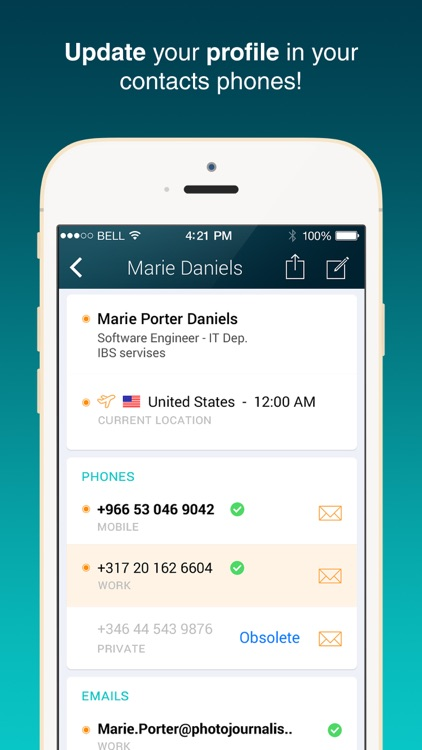 Smardex - Contacts Directory and Corporate Connect screenshot-3