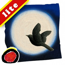 White is the Moon, a bedtime story that introduces kids to the natural course of a day; by Valerie Greeley. (iPad Lite version; by Auryn Apps)