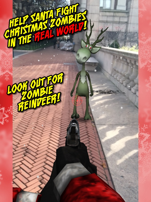 christmas zombies everywhere santa claus vs the apocalypse on the app store
